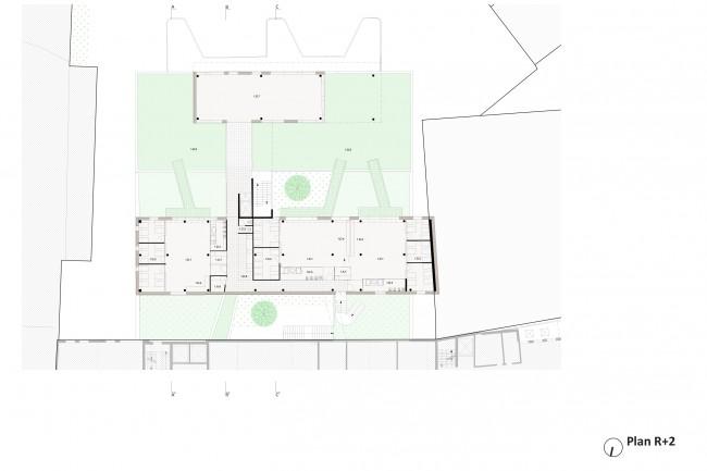 baumans deffet architecture urbanisme cr che aim dupont. Black Bedroom Furniture Sets. Home Design Ideas
