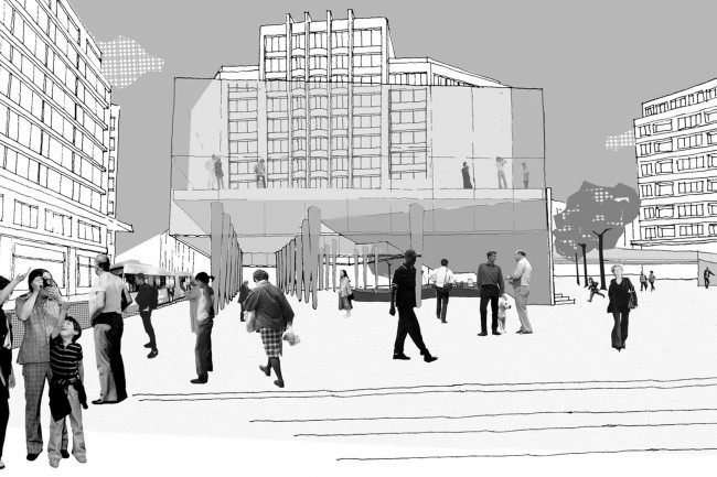 Baumans deffet architecture urbanisme place flagey